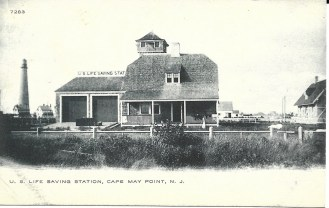 U.S. Life Saving Station, Cape May Point, N.J.