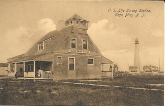U.S. Life Saving Station, Cape May, N.J.
