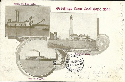 Greetings from Cool Cape May, 1904