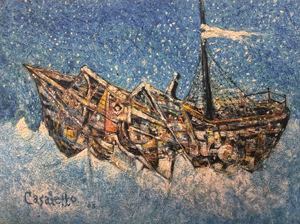 Tom Casaletto Ship Painting