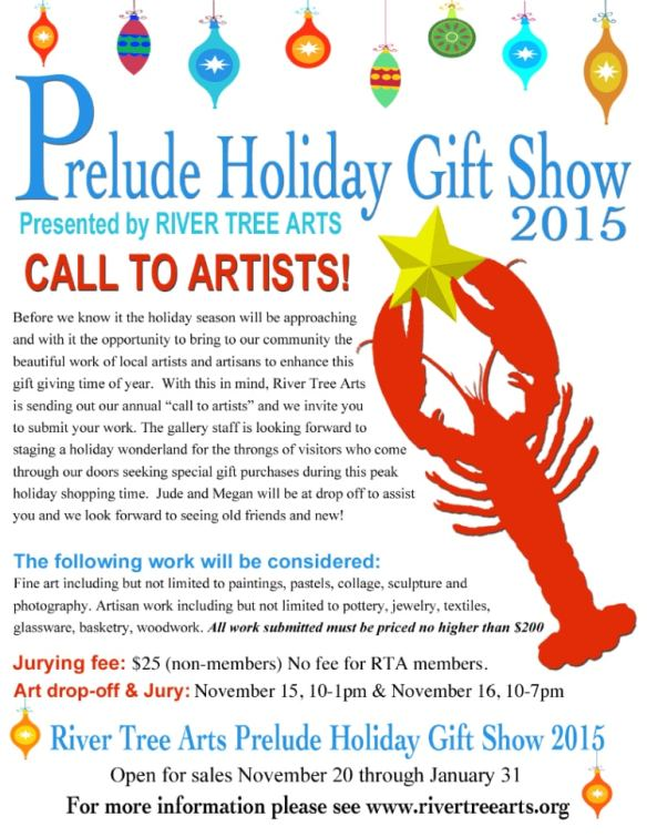 Call to Artist for Prelude