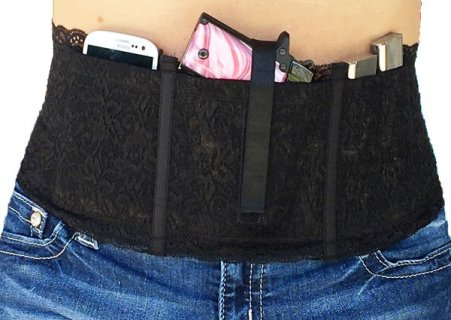 Miss Concealed Ladies Lace Waistband Gun Holster