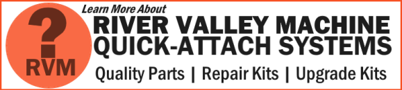 Universal Quick-Attach Systems from RVM, LLC | River Valley Machine USA