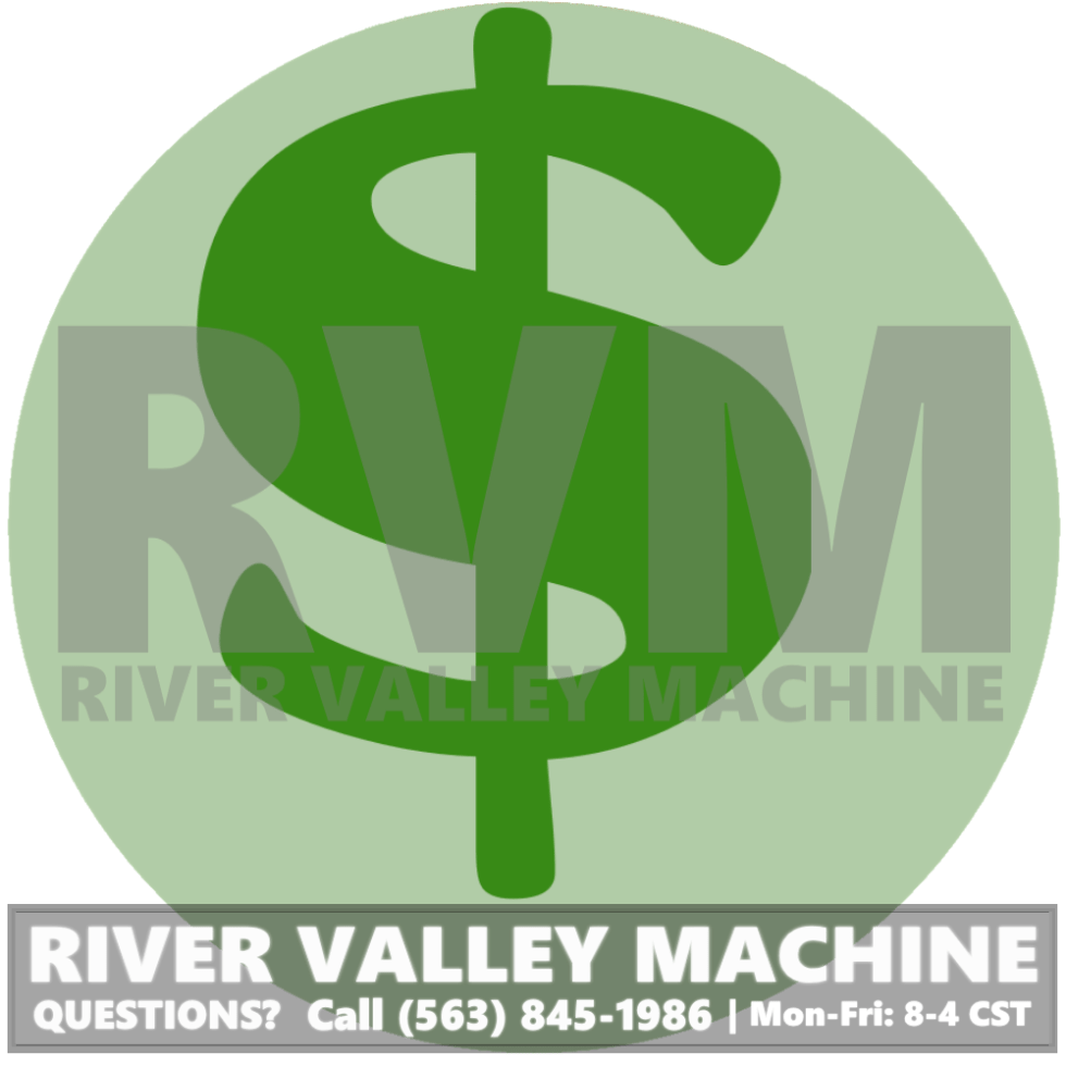 River Valley Machine offers Core Credit for Used, Rebuildable Hydraulic Cylinders