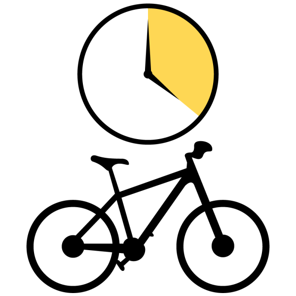 Bike Rental Full Day Icon