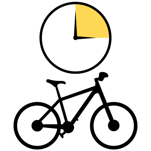 Bike Rental Half Day Icon