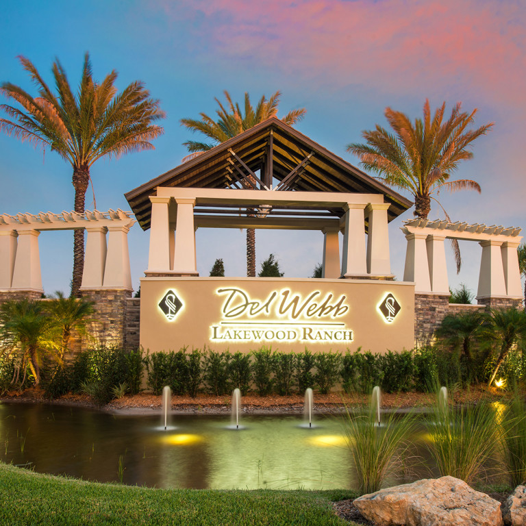 Del Webb Lakewood Ranch New Homes Community