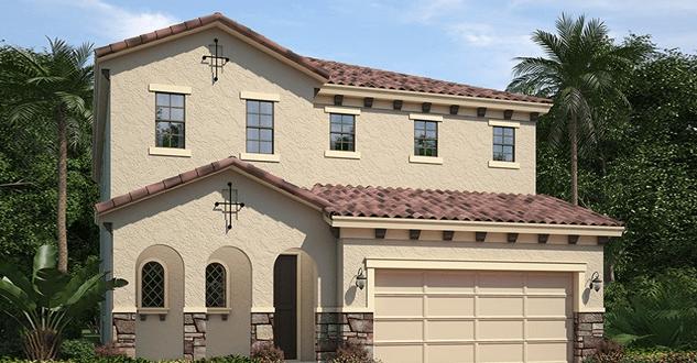 LA Linda Terrace Sarasota Florida New Homes Community