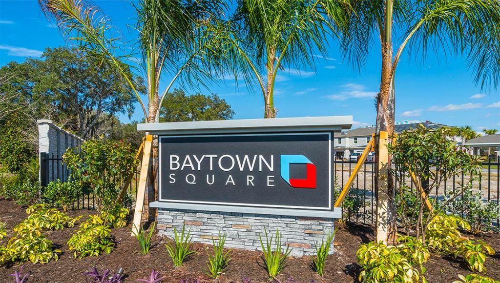 Baytown Square Sarasota Florida New Town Homes Community