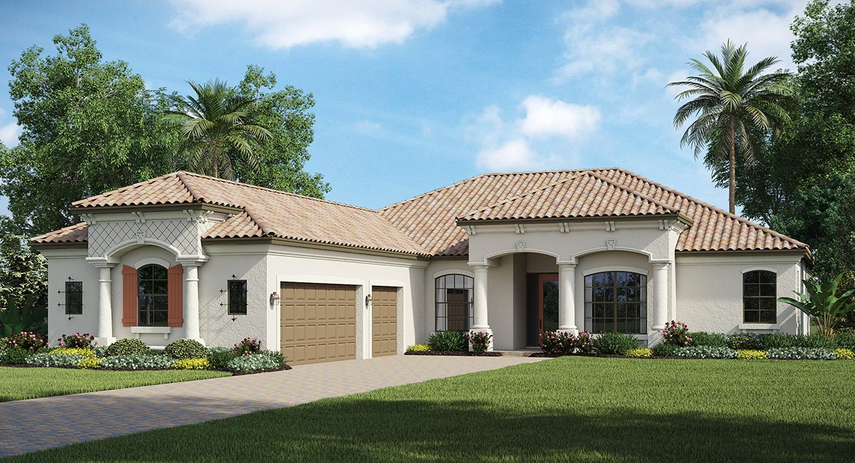 The Napoli  Lennar Homes Bradenton & Lakewood Ranch Florida New Homes Communities