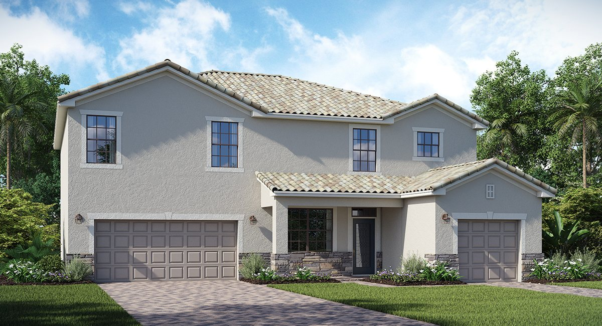 The Sorrento  Lennar Homes Bradenton & Lakewood Ranch Florida New Homes Communities