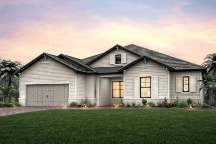 Southampton Floorplan Shoreview at Lakewood Ranch Waterside New Homes Community