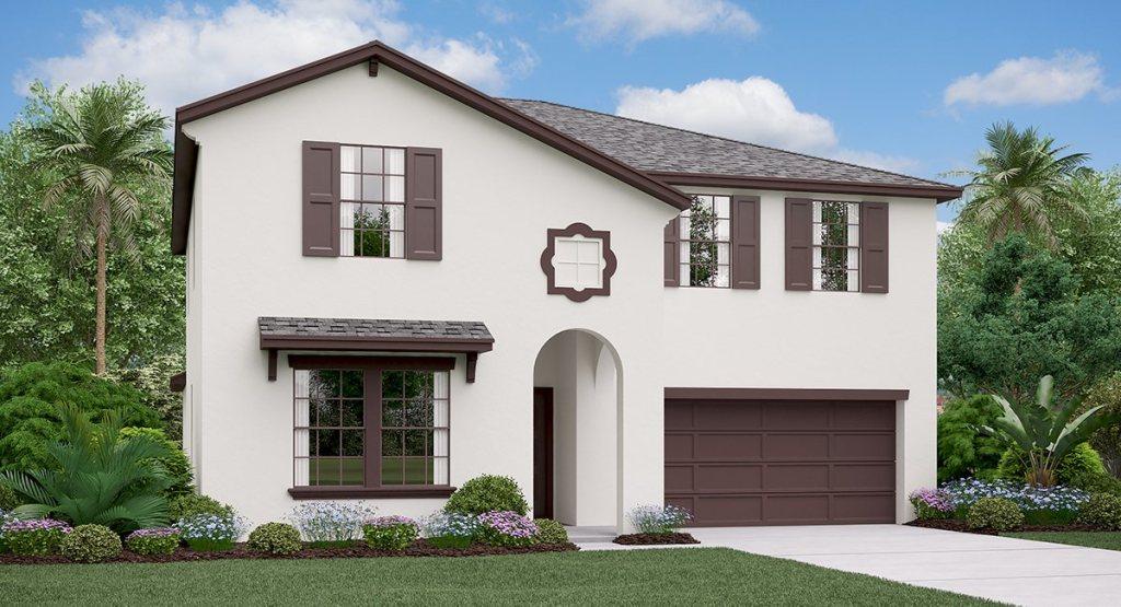 Twin Creeks: TheTrenton Lennar Homes Riverview Florida New Homes Community