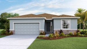 Southshore Bay The Lantana   2,045 square feet 4 bed, 2.5 bath, 2 car, 1 story Wimauma Florida