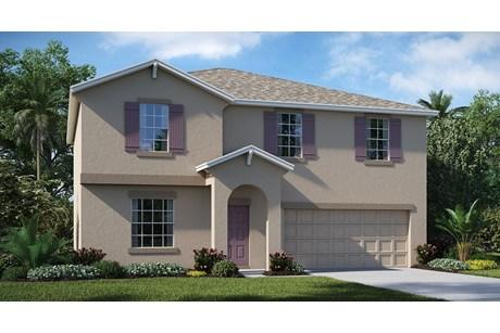 Bullfrog Creek (50's) –- American Dream- Series Homes – Gibsonton Florida New Homes Community