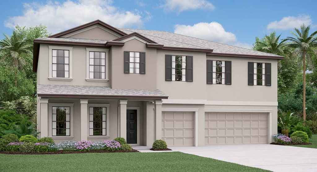 South Fork Lakes: The Olympia Lennar Homes Riverview Florida New Homes Community