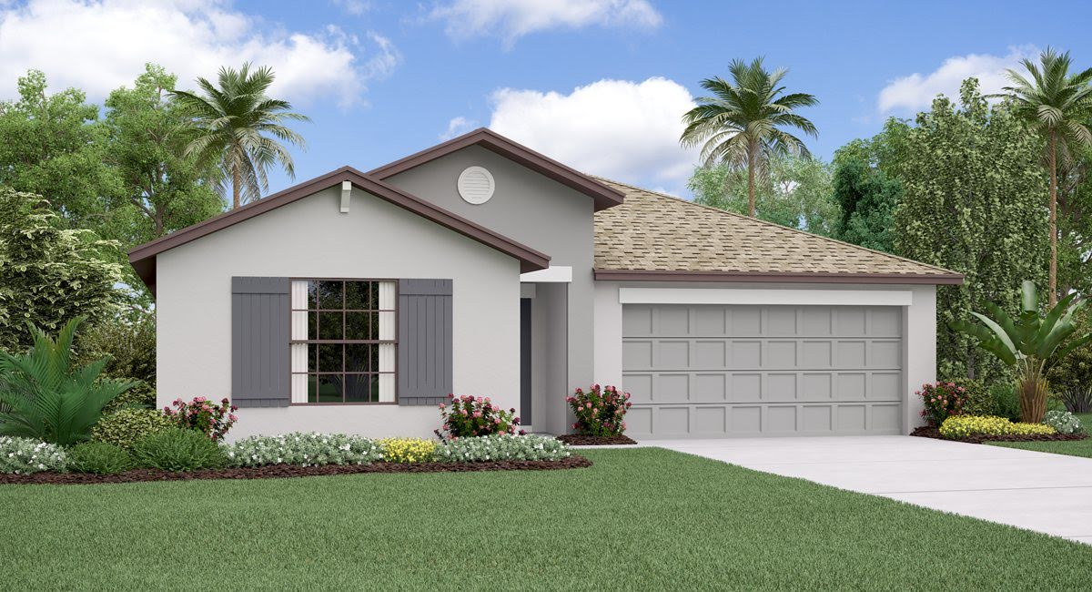 The Hartford Model Tour Lennar Homes Riverview Florida