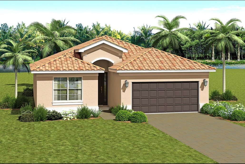 The Bella Model in Valencia Del Sol Wimauma Florida Real Estate | Wimauma Realtor | New Homes for Sale | Wimauma Florida