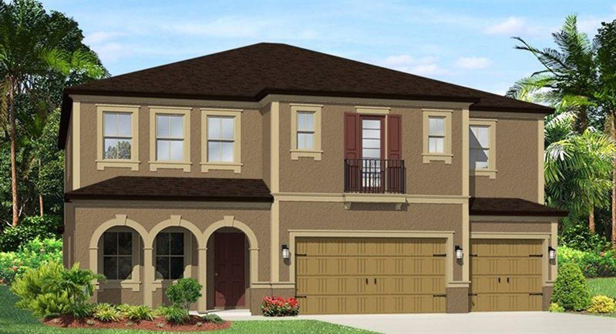 The Saratoga Model Lennar/WCI Homes Tampa Florida Real Estate | Ruskin Florida Realtor | Palmetto New Homes for Sale | Wesley Chapel Florida
