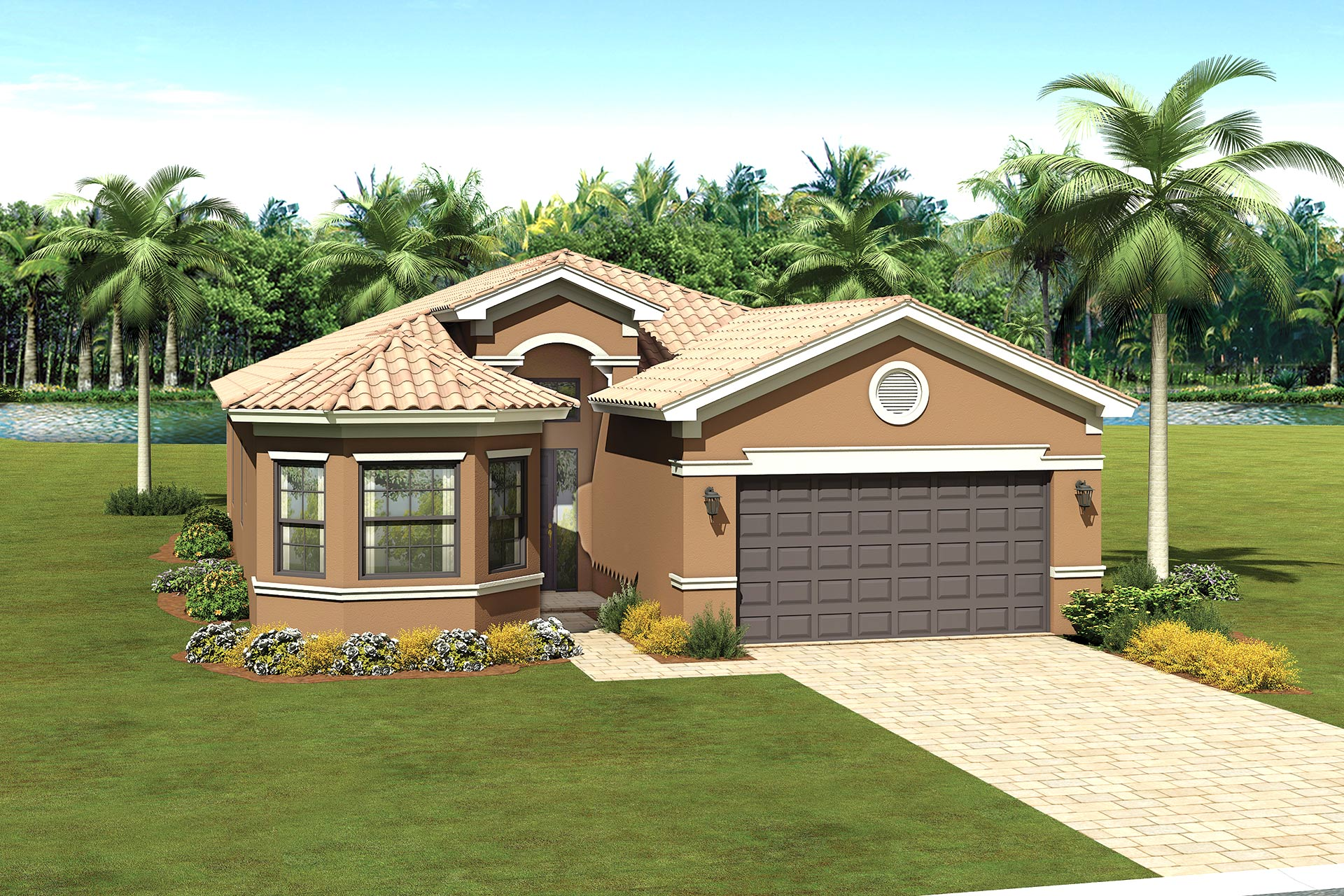 The Barbados Model Home | The Crown Collection at Valencia del Sol in Tampa, FL