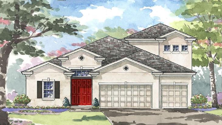 The BISCAYNE II | Homes By Westbay | WaterSet Apollo Beach Florida Real Estate | Apollo Beach Realtor | New Homes for Sale | Apollo Beach