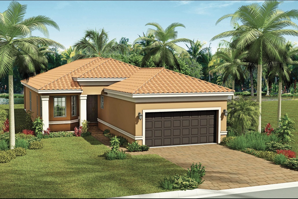 Valencia del Sol  CAPRI  2 Bedrooms 2 Bathrooms Great Room Den/Optional 3rd Bedroom Screened and Covered Patio 2-Car Garage