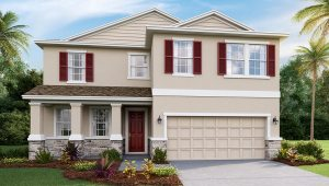 DR Horton Homes | The Coral 2,756 square feet 4 bed, 3 bath, 2 car, 2 story | Brooker Ridge Brandon Florida Real Estate | Brandon Realtor