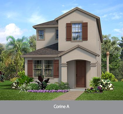 The Corine (WT) | Park Square Homes | WaterSet Apollo Beach Florida Real Estate | Apollo Beach Realtor | New Homes for Sale | Apollo Beach