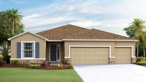 DR Horton Homes   The Hawthorne 2,537 square feet 4 bed, 3 bath, 3 car, 1 story    Brooker Ridge Brandon Florida Real Estate   Brandon Realtor