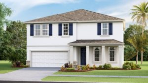 DR Horton Homes   The Hemingway 2,934 square feet 5 bed, 3 bath, 2 car, 2 story    Brooker Ridge Brandon Florida Real Estate   Brandon Realtor