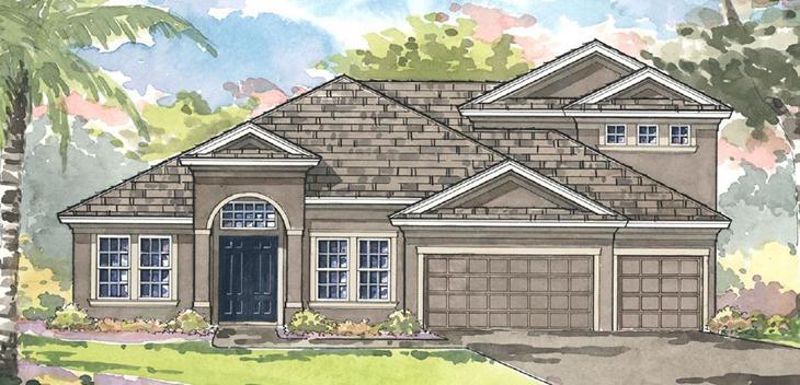The KEY LARGO GRAND | Homes By Westbay | WaterSet Apollo Beach Florida Real Estate | Apollo Beach Realtor | New Homes for Sale | Apollo Beach Florida