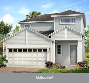 The Melbourne  (WT) | Park Square Homes | WaterSet Apollo Beach Florida Real Estate | Apollo Beach Realtor | New Homes for Sale | Apollo Beach