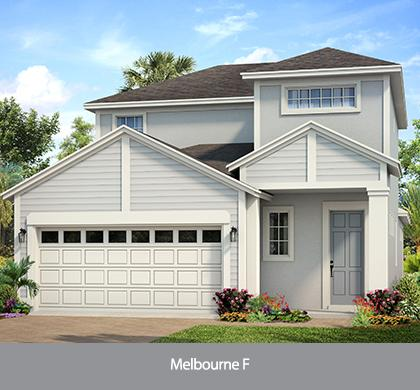 The Melbourne  (WT) | Park Square Homes | WaterSet Apollo Beach Florida Real Estate | Apollo Beach Realtor | New Homes for Sale | Apollo Beach