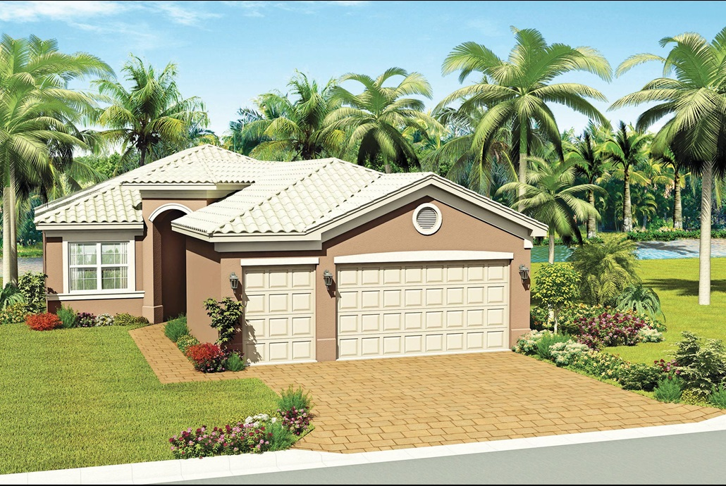 The Palazzo Model Home | The Crown Collection at Valencia del Sol in Tampa, Florida