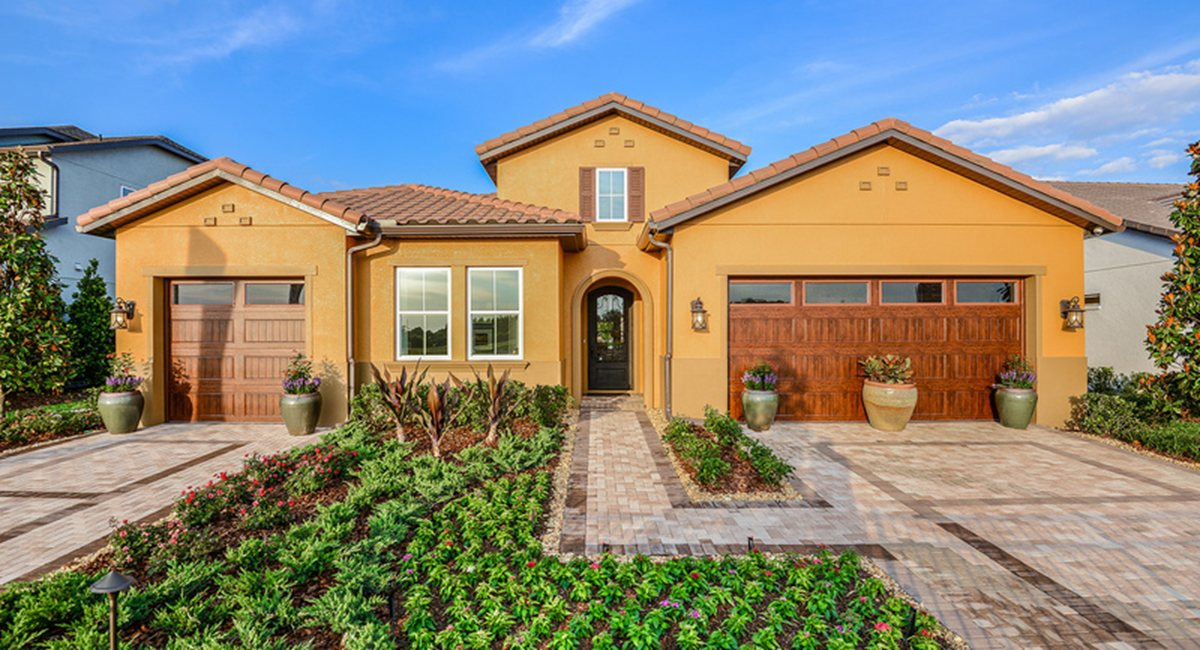 Monterey Grand Waterside New Home Community Lutz Florida