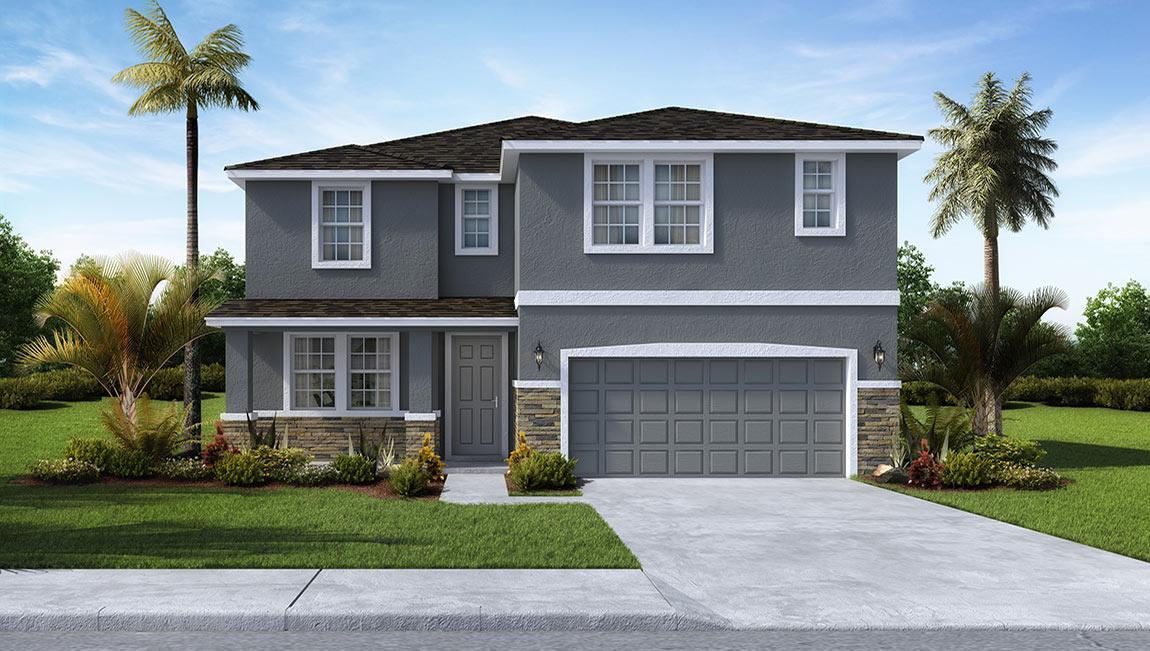 DR Horton Homes | The Talbot 3,561 square feet 5 bed, 3.5 bath, 2 car, 2 story | Brooker Ridge Brandon Florida Real Estate | Brandon Realtor