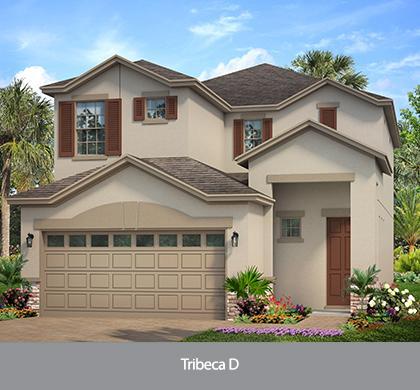 The Tribeca  (WT) | Park Square Homes | WaterSet Apollo Beach Florida Real Estate | Apollo Beach Realtor | New Homes for Sale | Apollo Beach