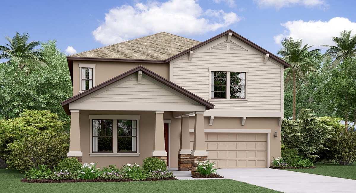 The Vermont Triple Creek Lennar Homes Riverview Florida Real Estate | Riverview Realtor | New Homes for Sale | Riverview Florida