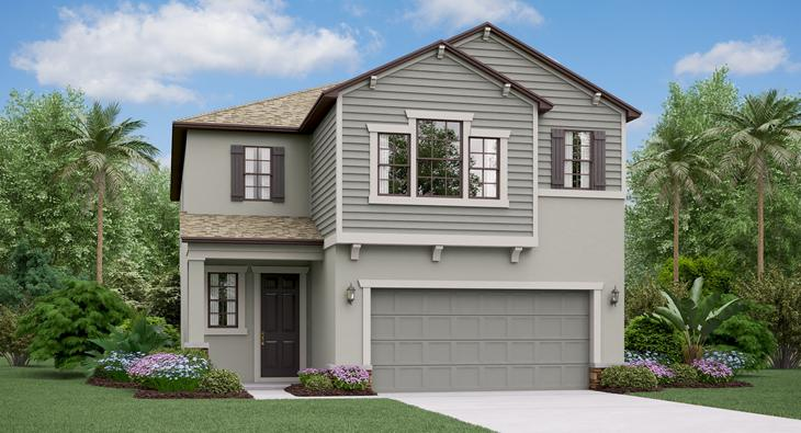 The Maryland Lennar Homes Ventana Riverview Florida Real Estate | Riverview Realtor | New Homes for Sale | Riverview Florida