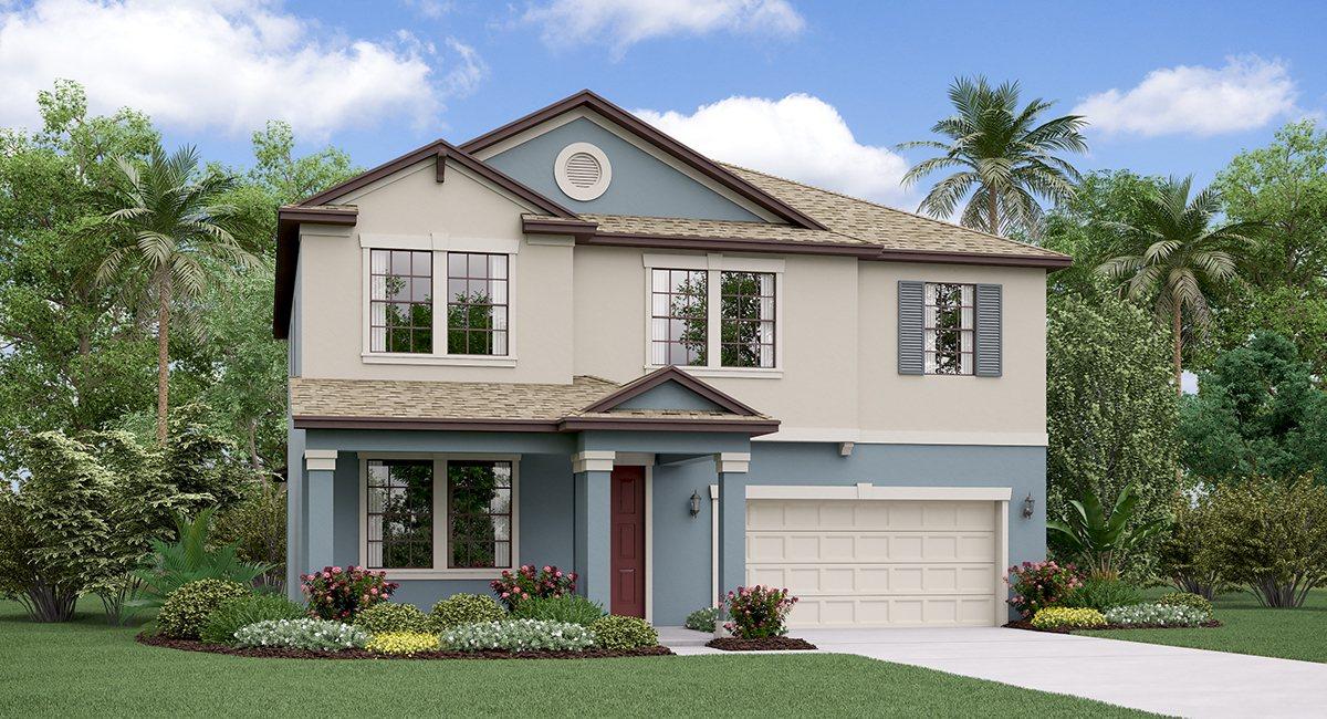 The South Carolina Model Tour Rivercrest Lakes Lennar Homes  Riverview Florida