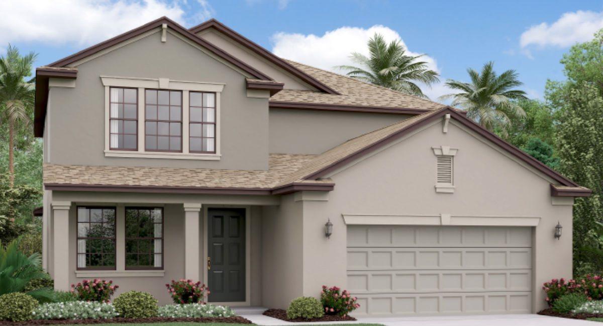The Pennsylvania Lennar Homes Ventana Riverview Florida Real Estate | Riverview Realtor | New Homes for Sale | Riverview Florida