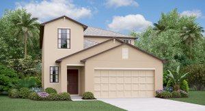 The Columbia  Model Tour Lynwood Lennar Homes Apollo Beach Florida
