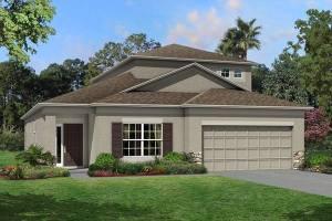 The Newport II Bonus  Model Tour M/I Homes Riverview Florida