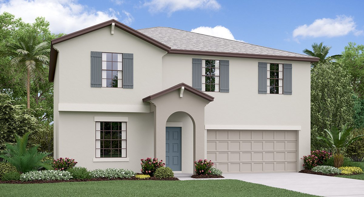 The Providence Model Tour  Lennar Homes Lynwood  Apollo Beach Florida