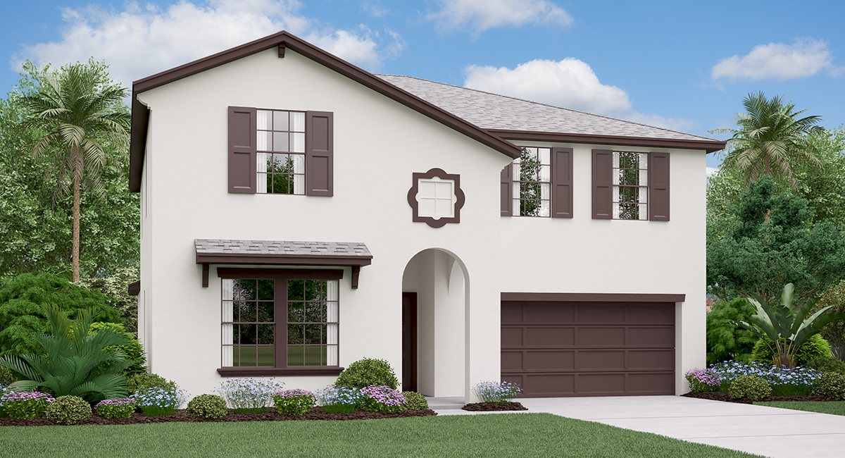 The Trenton Model Tour Lynwood Lennar Homes  Apollo Beach Florida