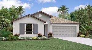 The Concord  Model Tour  Lennar Homes Trevesta Palmetto Florida