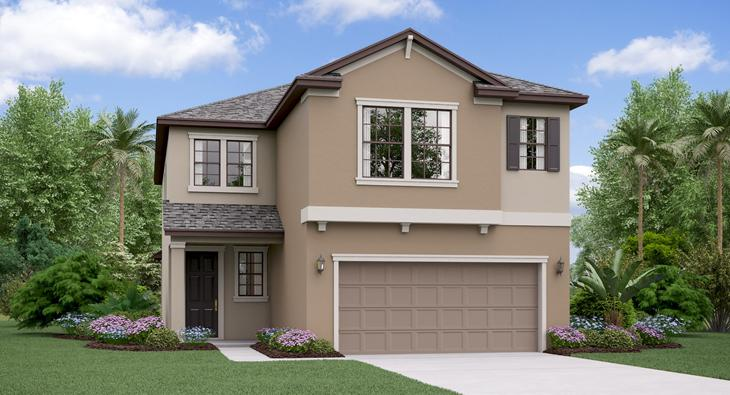 The New Hampshire Model Tour Lennar Homes Riverview Florida