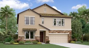 Crest View Lake New Home Community Riverview Florida