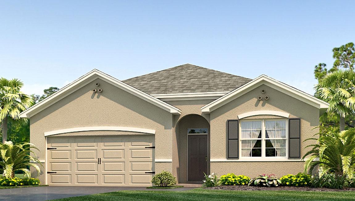 Abbott Park New Home Community Zephyrhills Florida
