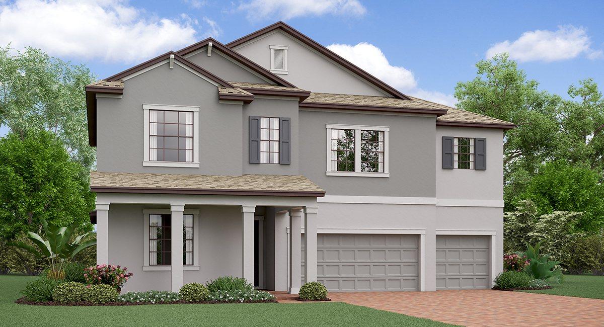 The Montana  Model Tour South Fork  Lennar Homes Riverview Florida